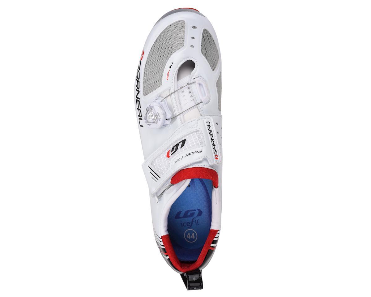 Louis Garneau Tri-400 Tri Shoes (White) (43)
