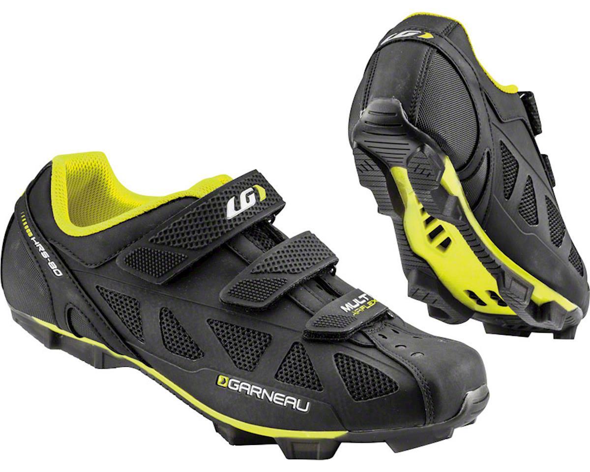 Louis Garneau Multi Air Flex Shoes (Black/Bright Yellow) (39)