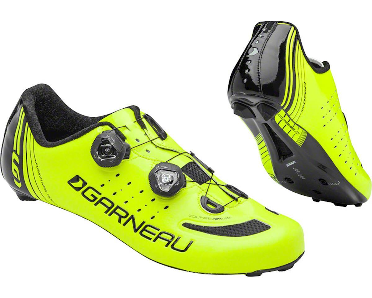 Louis Garneau Course Air Lite Shoes (Bright Yellow/Black) (43.5)