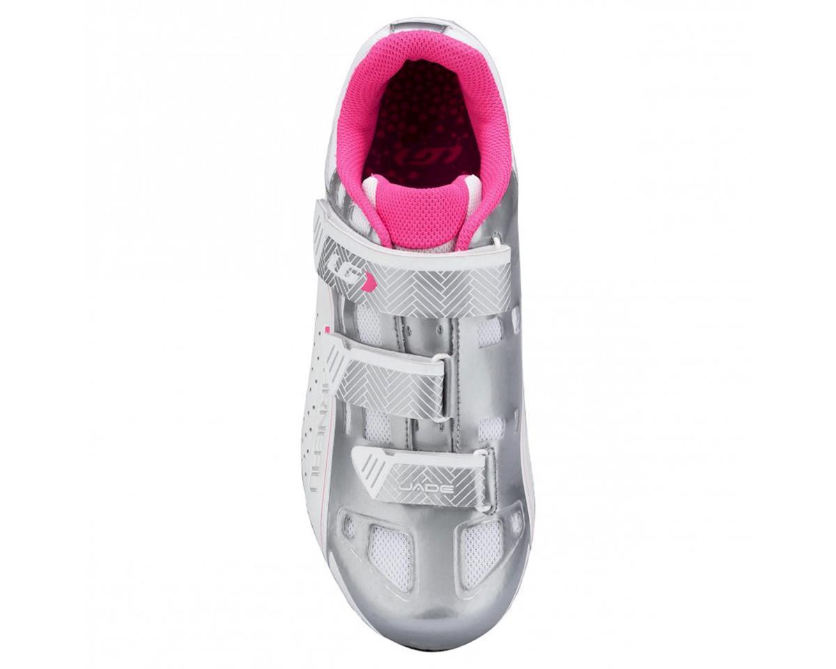 Louis Garneau Women's Jade Shoe (White/Silver/Pink) (39)