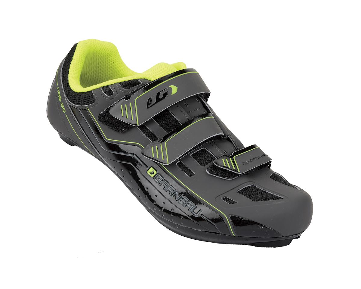 Louis Garneau Chrome Men's Cycling Shoes (Gray/Bright Yellow) (41)