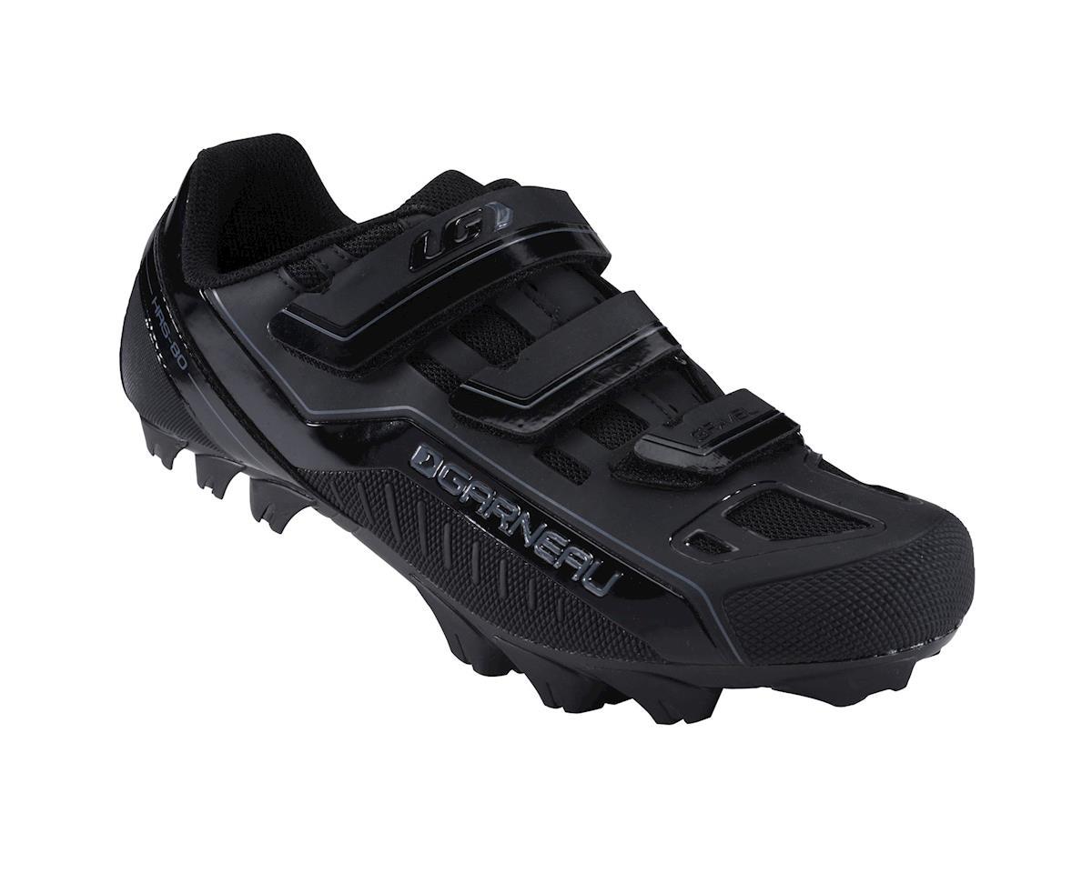 Louis Garneau Gravel Mountain Bike Shoes (Black) (48)