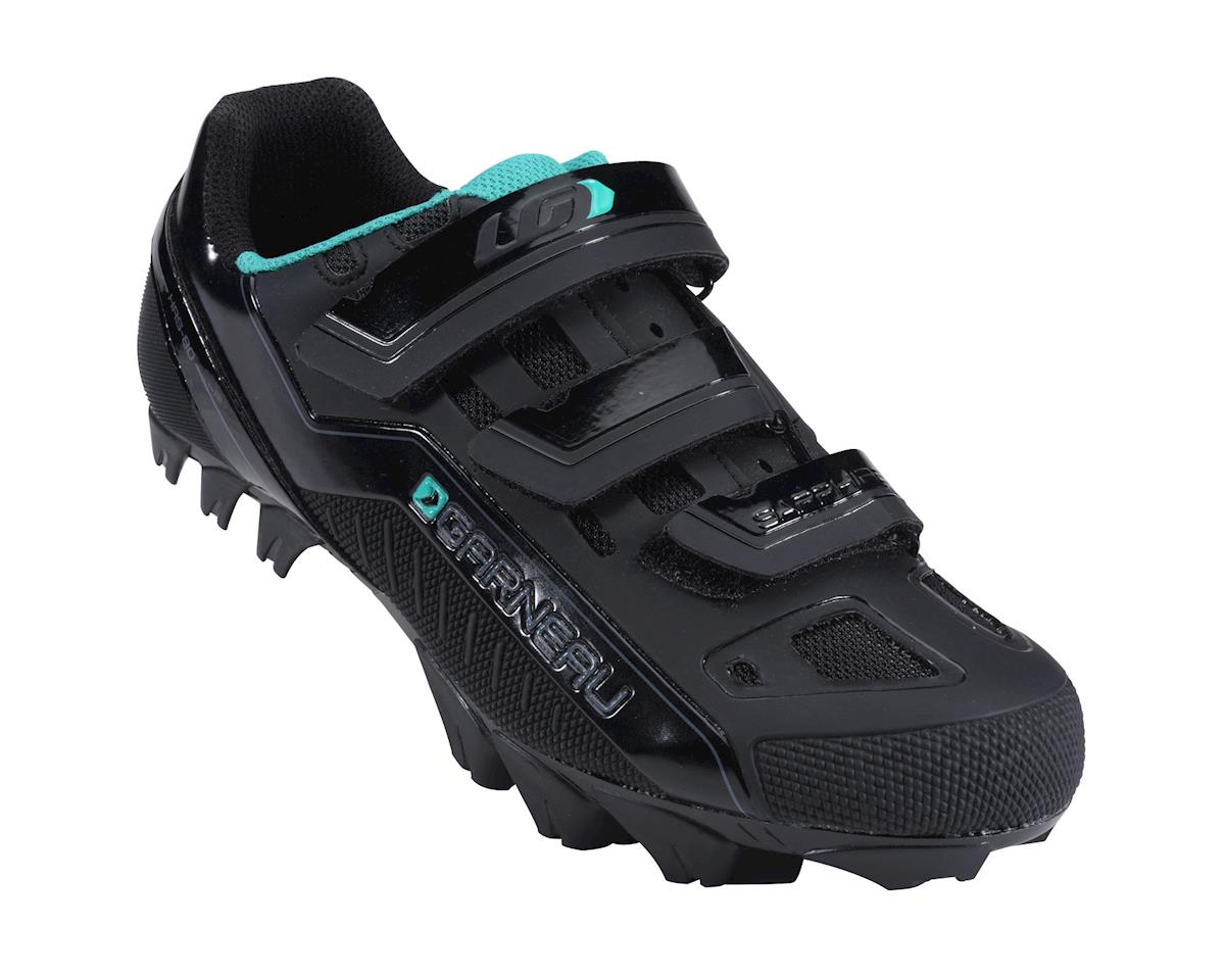 Louis Garneau Women's Sapphire  Mountain Bike Shoes (Black)