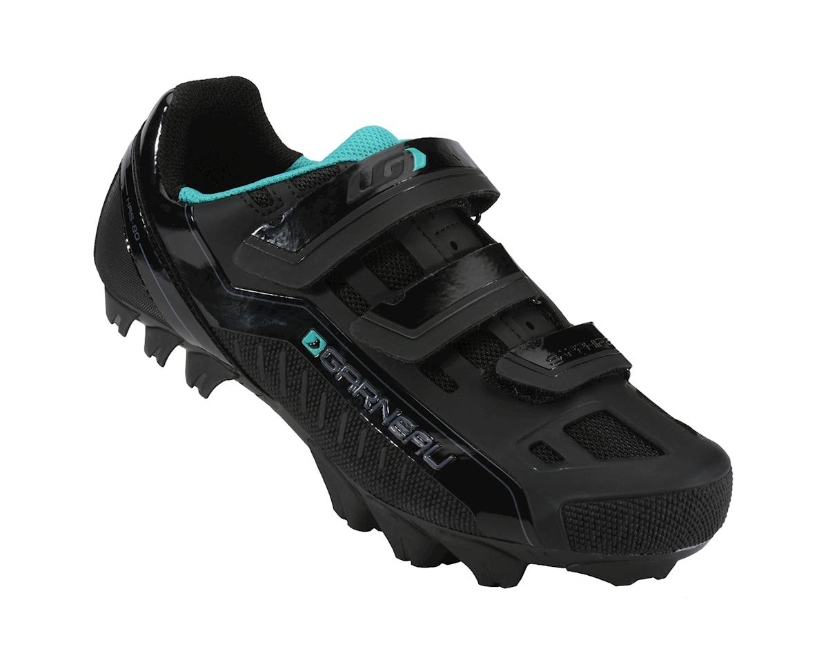 Louis Garneau Women's Sapphire  Mountain Bike Shoes (Black) (37)