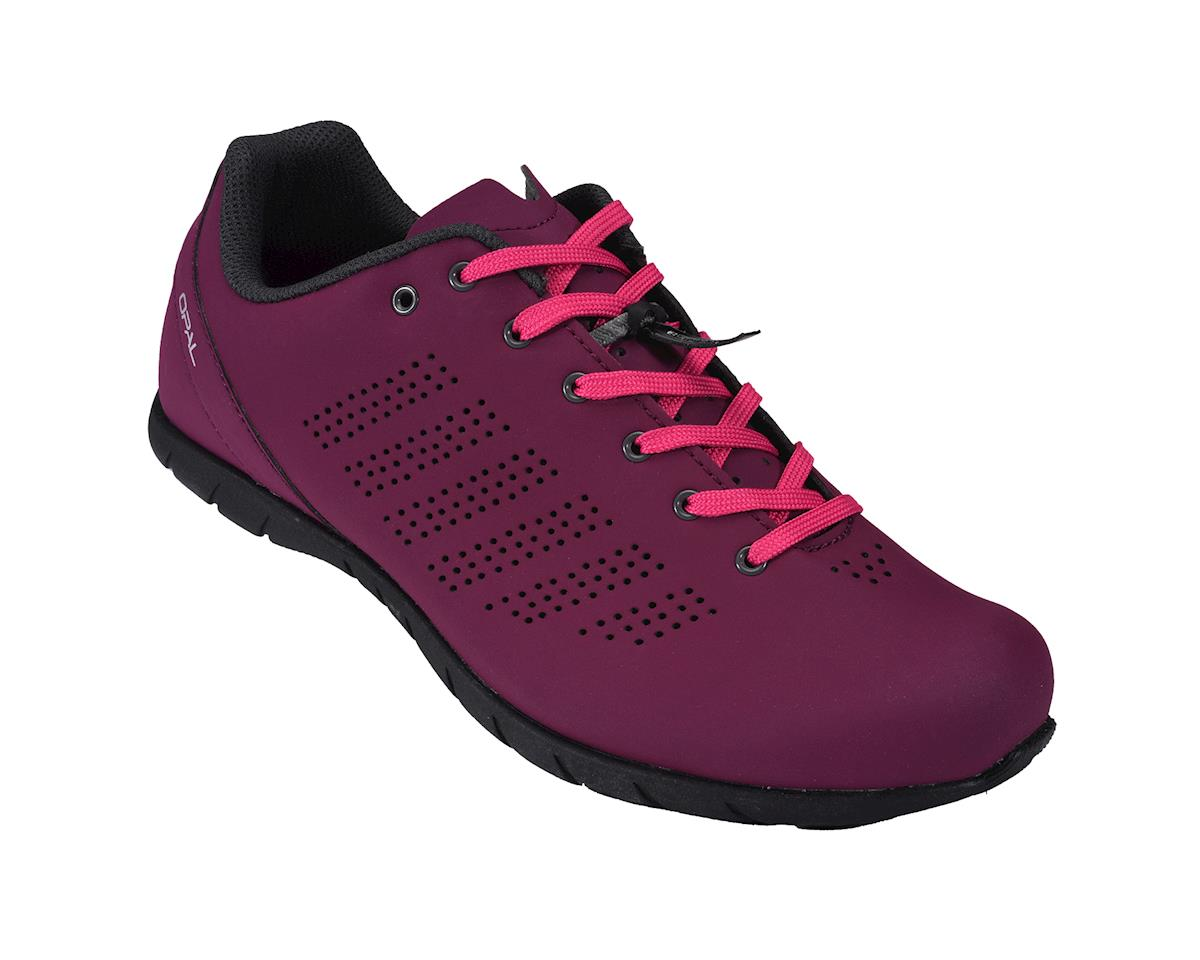 Louis Garneau Women's Casual Cycling Shoes (Magenta Purple)