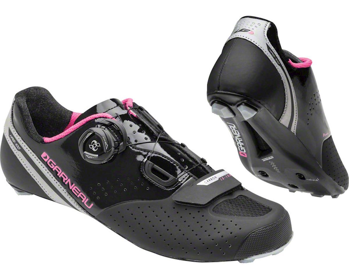 Louis Garneau Women's Carbon Ls-100 II Shoes (Black/Pink) (43)