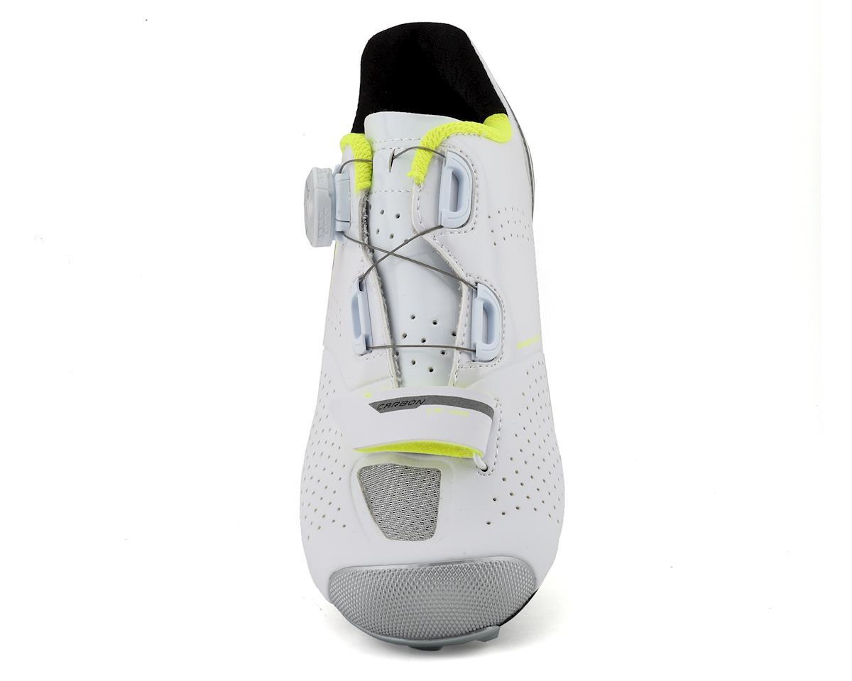 957dc7817e2c68 Louis Garneau Women's Carbon LS-100 II Cycling Shoes (White/Yellow) (37)  [1487256-497-37] | Clothing - Nashbar