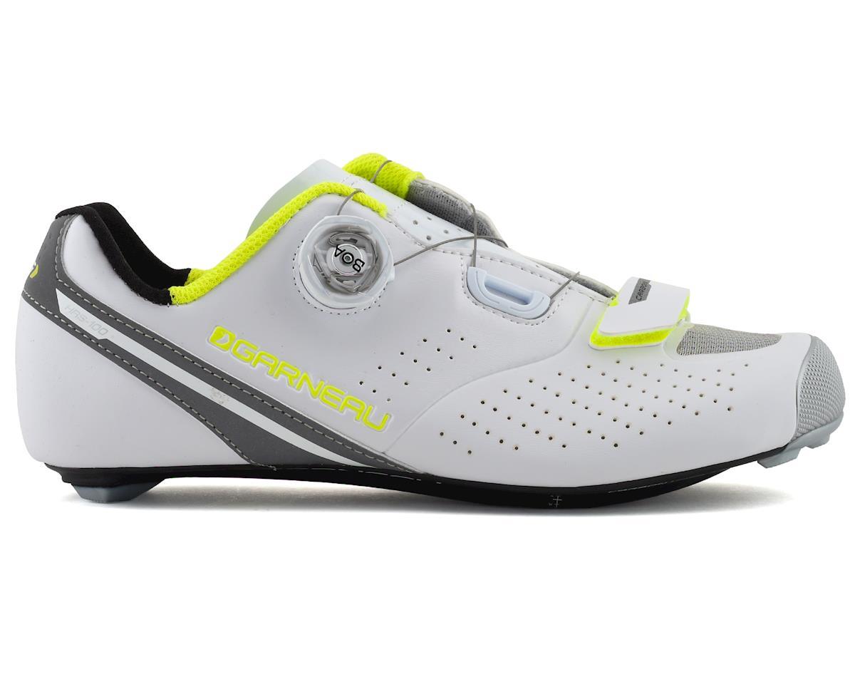 Louis Garneau Women's Carbon LS-100 II Shoes (White/Yellow) (43)