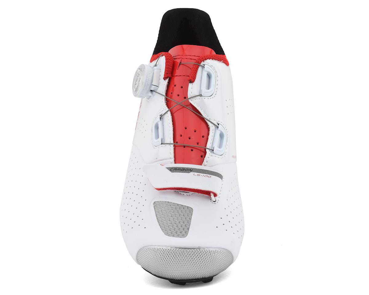 Image 3 for Louis Garneau Carbon Ls-100 II Shoes (White/Ginger) (38)