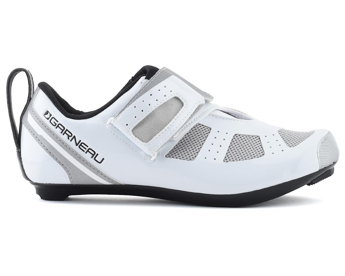 Louis Garneau Tri X-Speed III Shoe (White/Drizzle) (40)