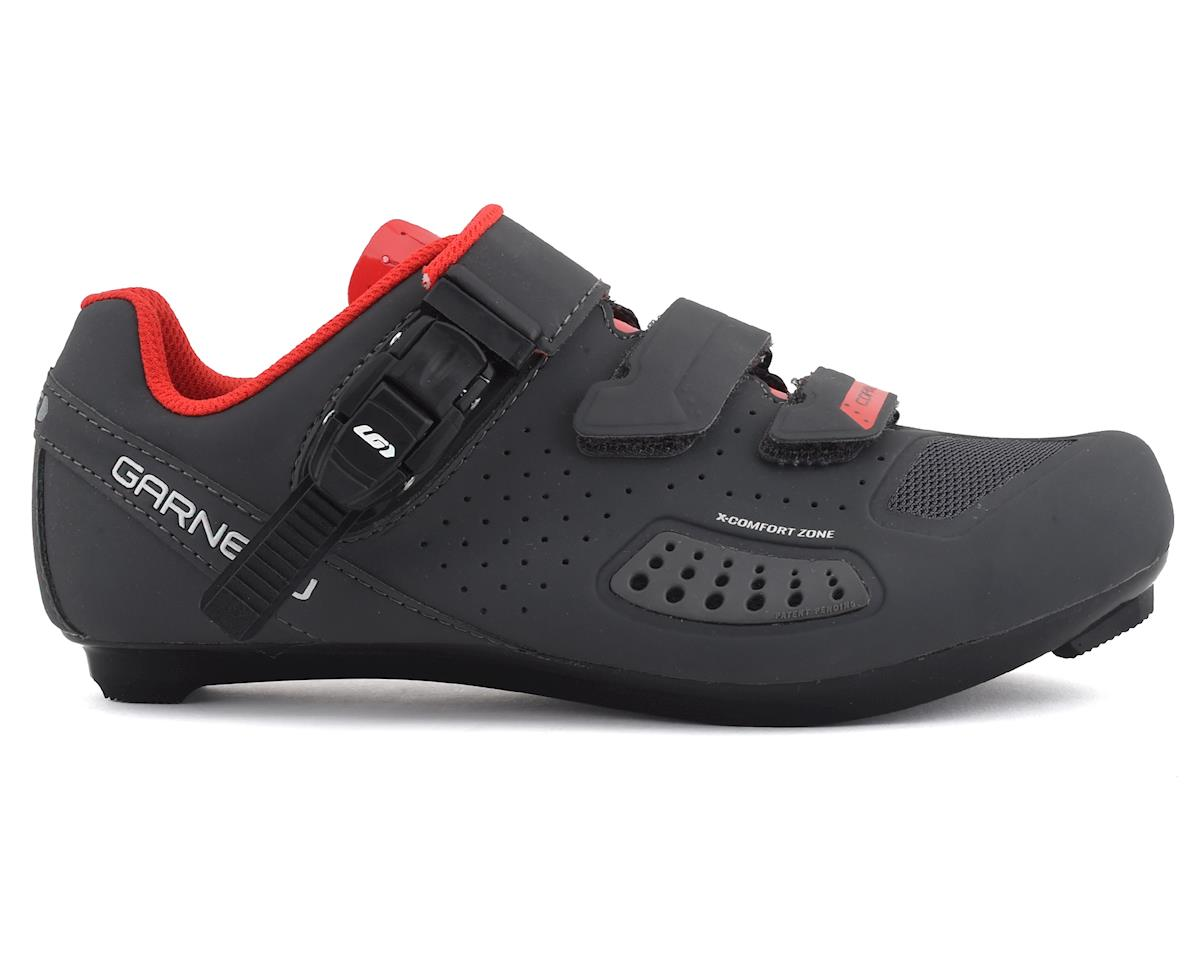 Image 1 for Louis Garneau Copal II Shoes (Charcoal/Red) (39)