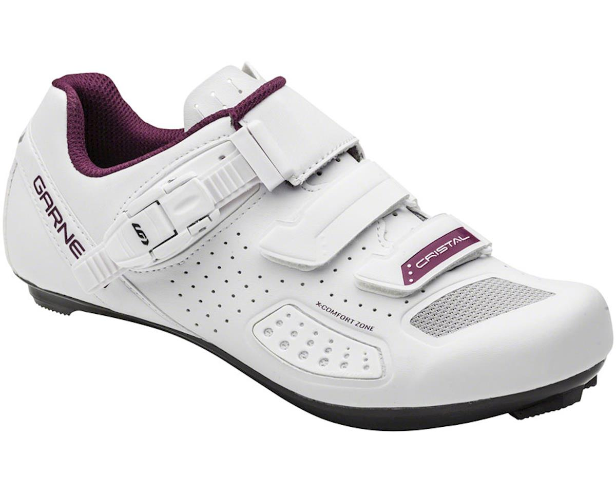 Louis Garneau Cristal II Women's Road Shoe (White) (40)