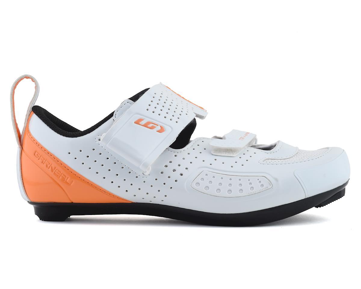 Louis Garneau Women's X-Speed IV Tri Shoe (White) (37)