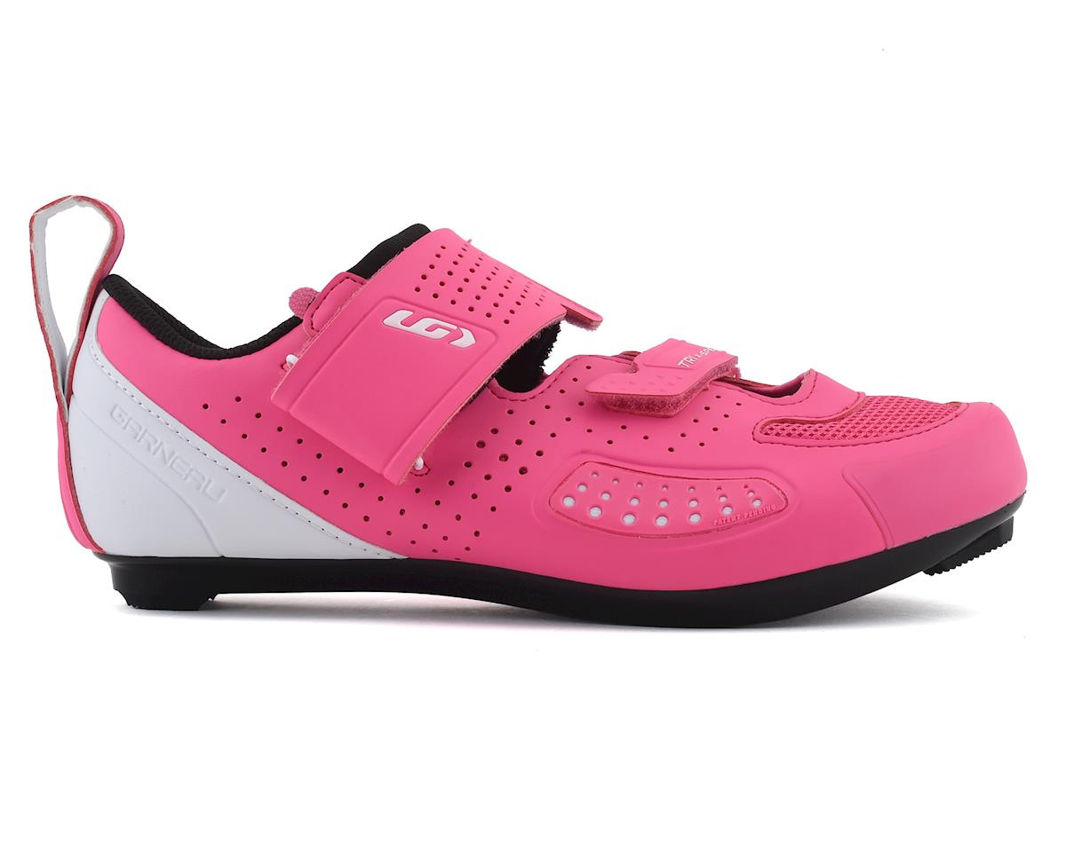 Louis Garneau Women's X-Speed IV Tri Shoe (Pink Pop) (41)
