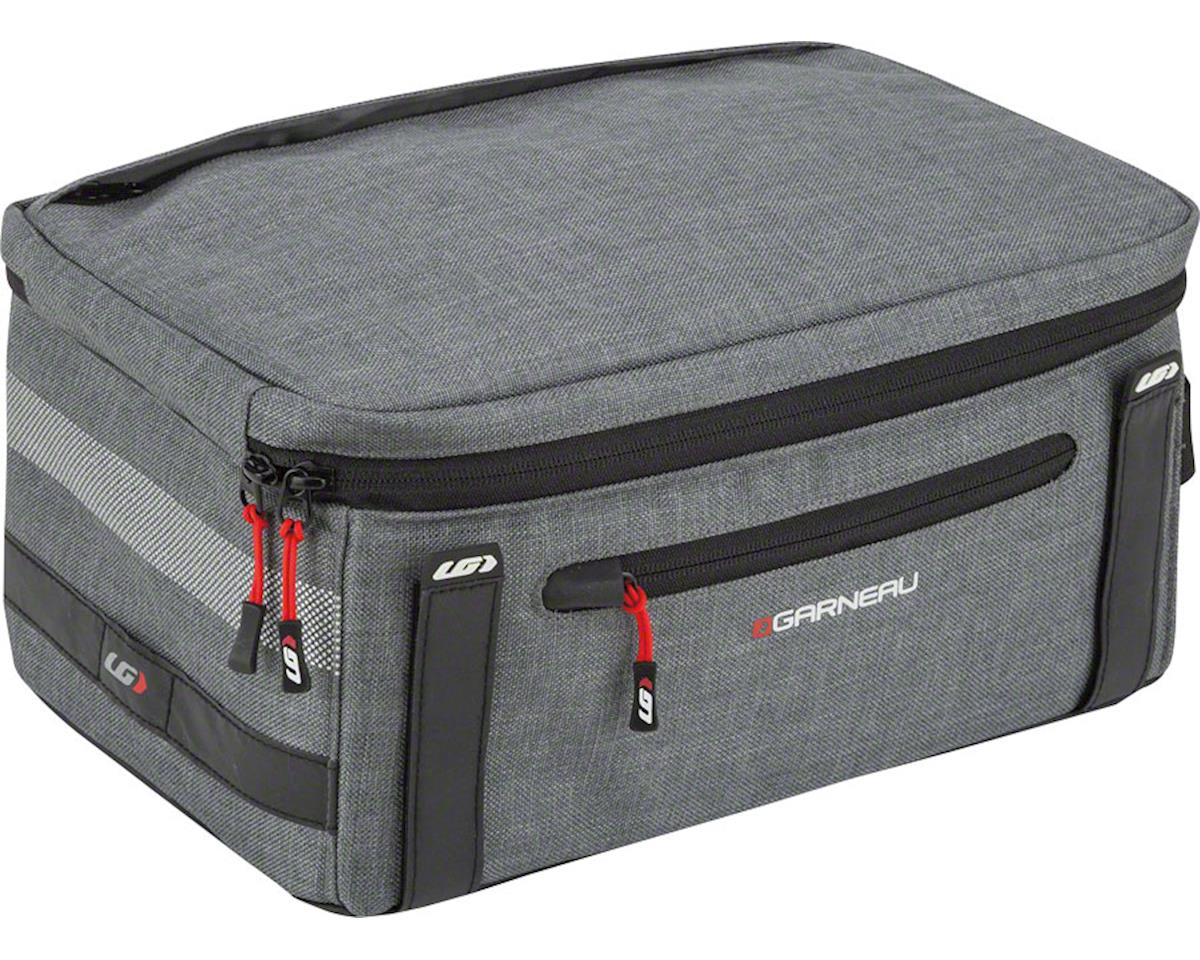 Louis Garneau Uptown Trunk Bag: Heather Gray, 9 Liters