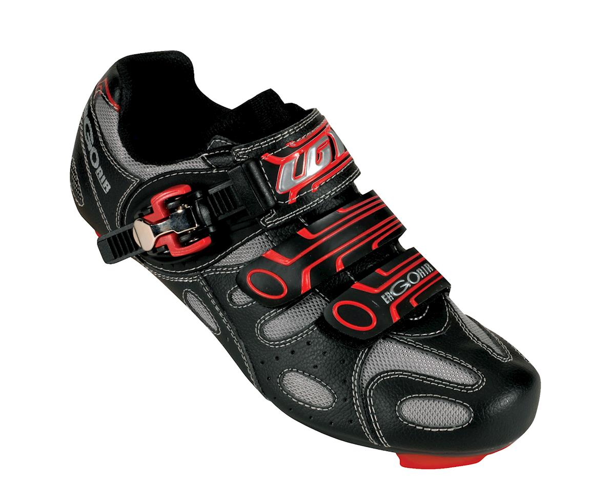 Louis Garneau Ergo Air Revo Road Shoes (Black/Red) (0390)