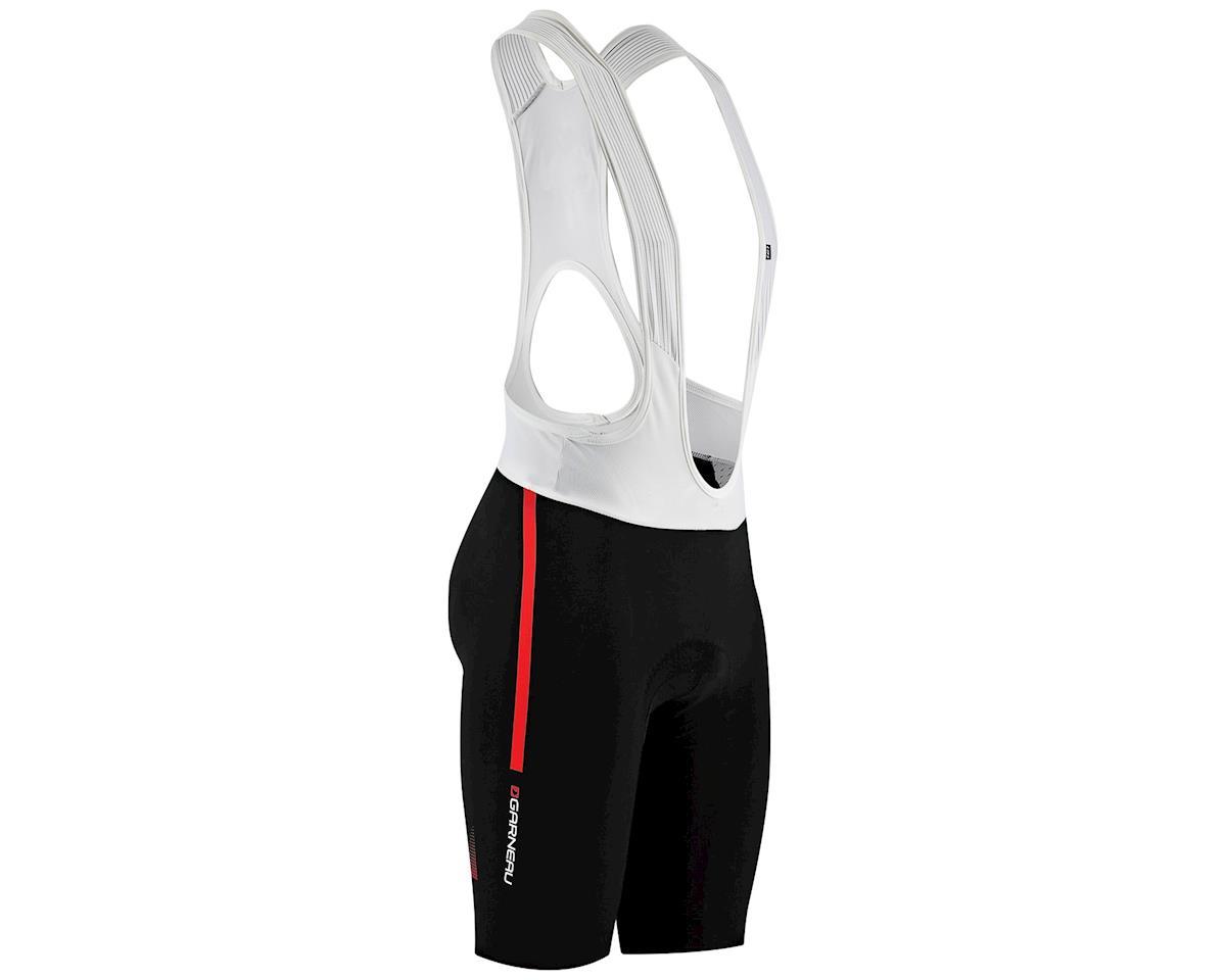 Louis Garneau Course Race Bib Shorts (Black/Red) (Xxlarge)
