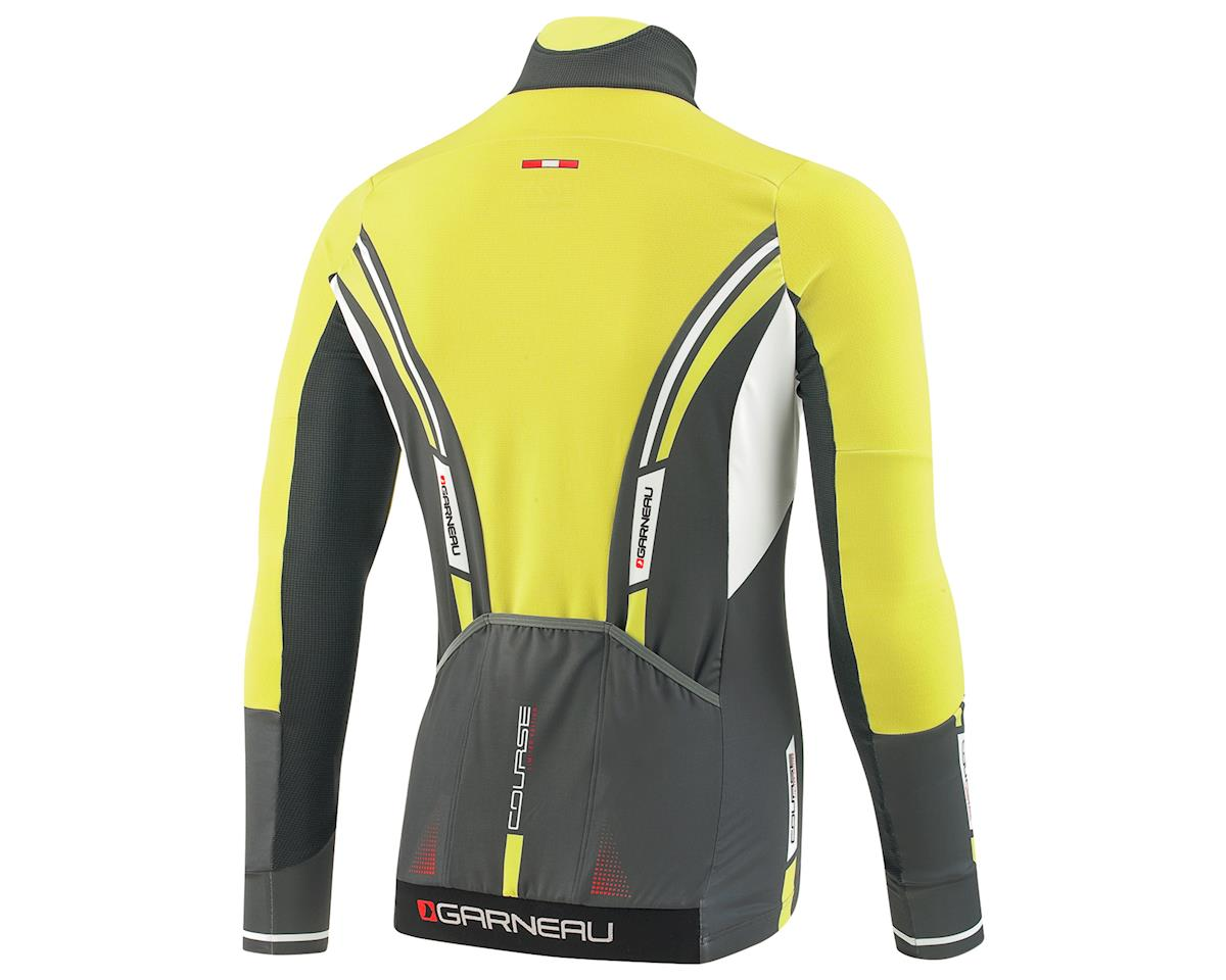 Louis Garneau Course WindPro Long Sleeve Cycling Jersey (Iron Gray/Sulphur)