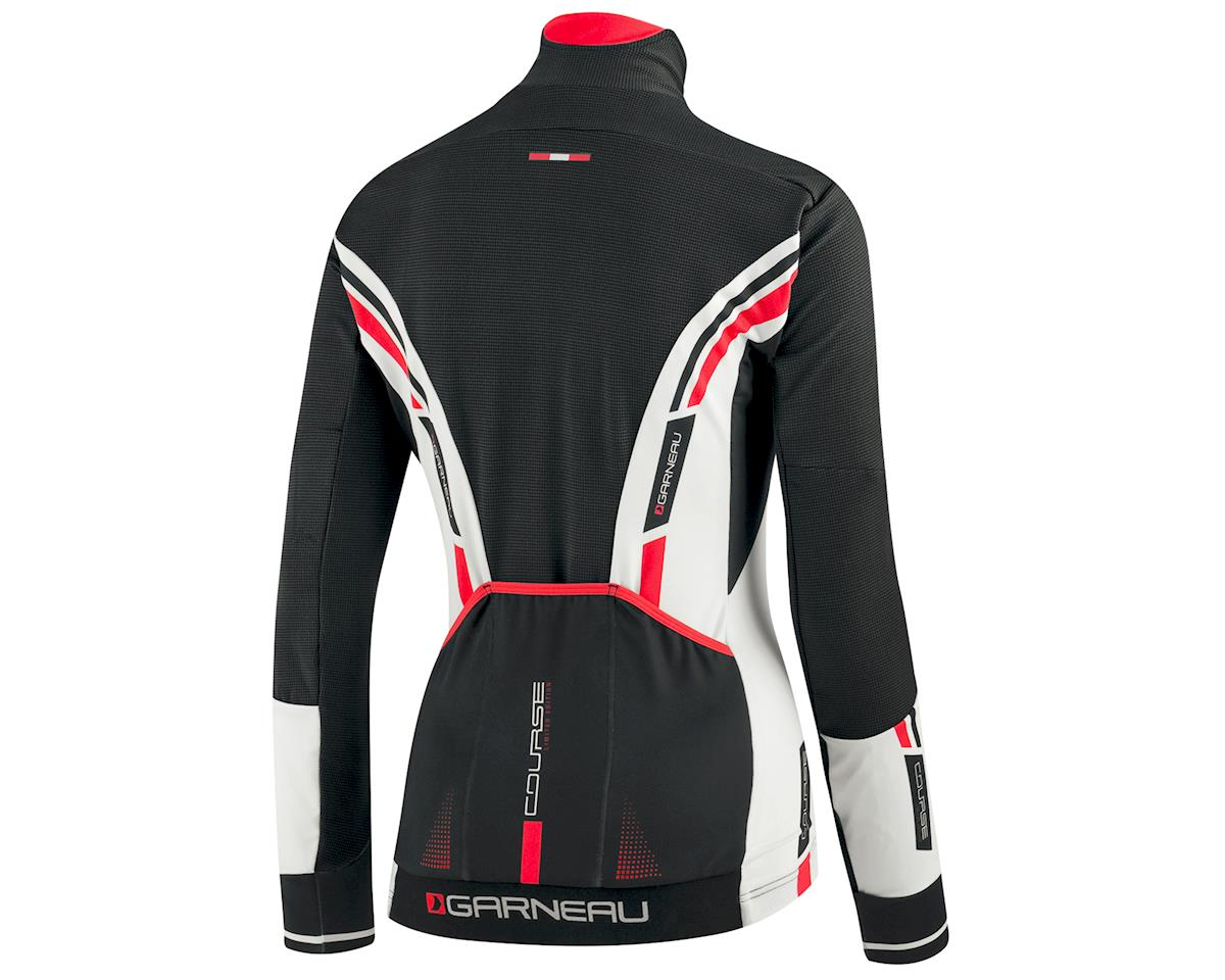 Louis Garneau Women's Course WindPro Long Sleeve Cycling Jersey (Black/White) (L)