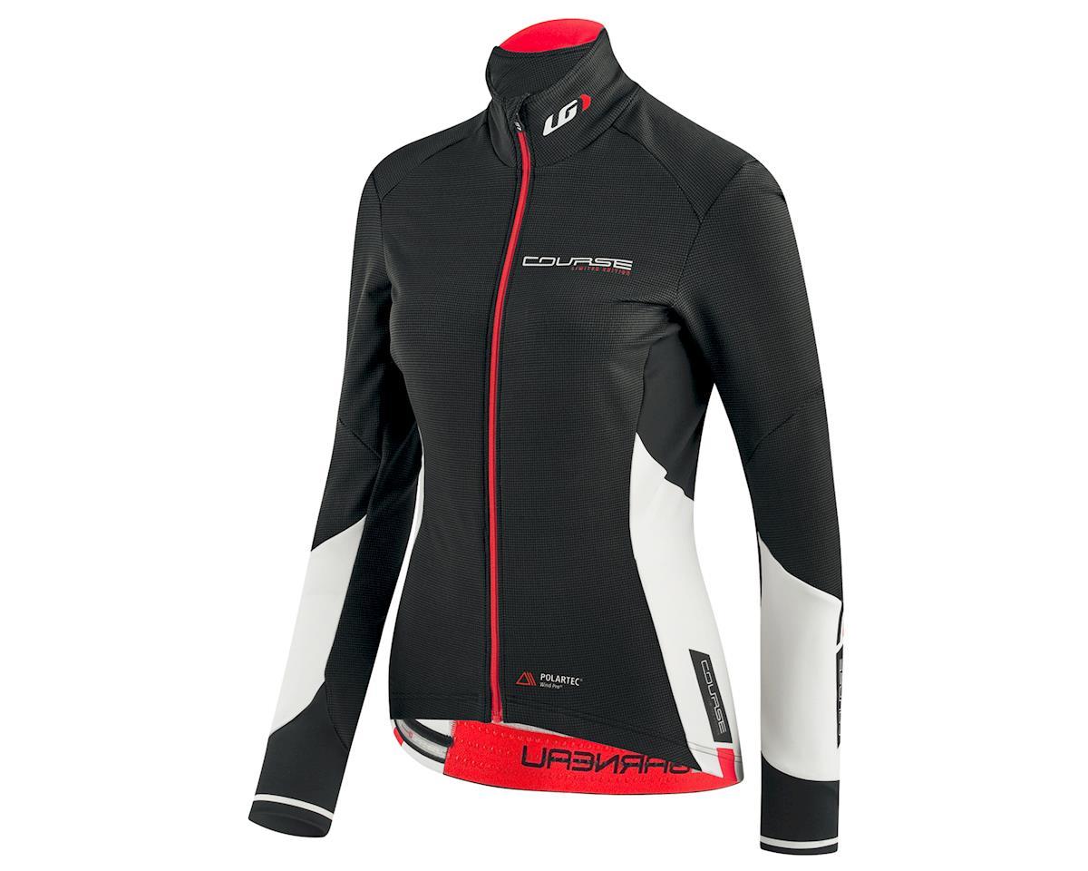 Louis Garneau Women's Course WindPro Long Sleeve Cycling Jersey (Black/White) (M)