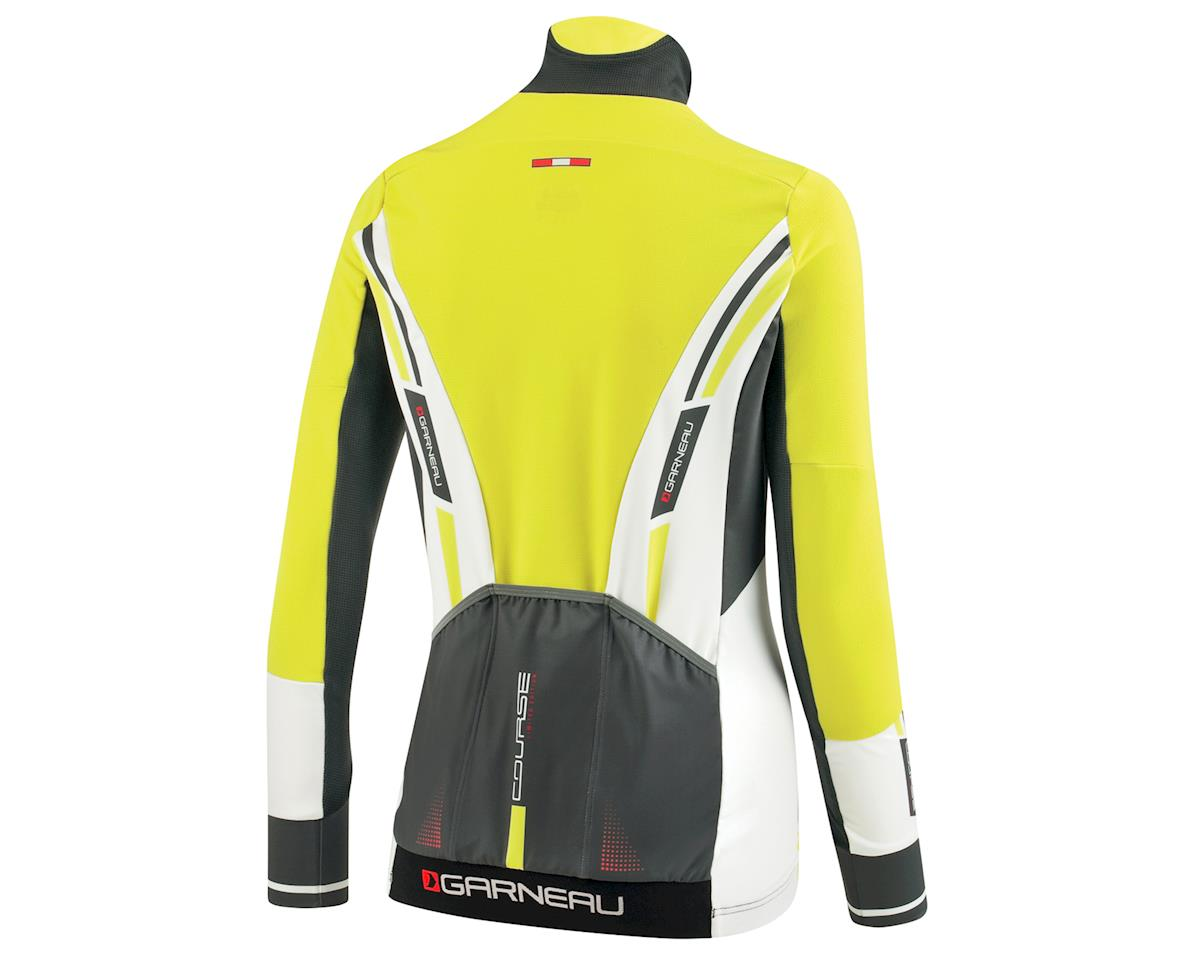 Louis Garneau Women's Course WindPro Long Sleeve Cycling Jersey (Gray/Sulphur) (M)