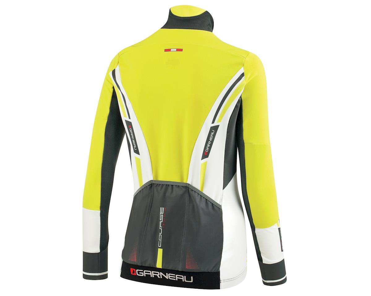 Louis Garneau Women's Course WindPro Long Sleeve Cycling Jersey (Gray/Sulphur)