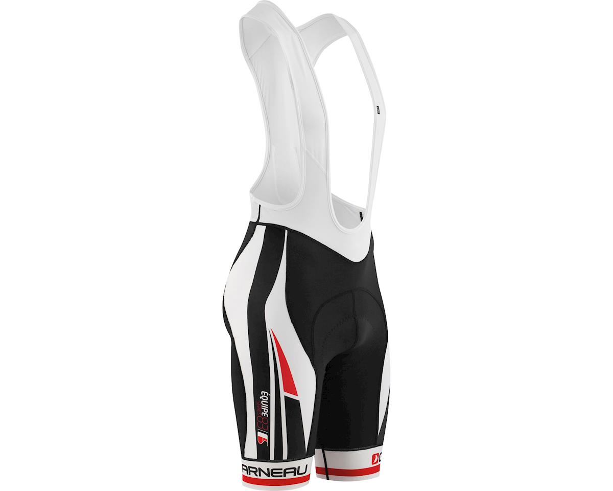 Louis Garneau Equipe Bib Shorts (Black/Red)