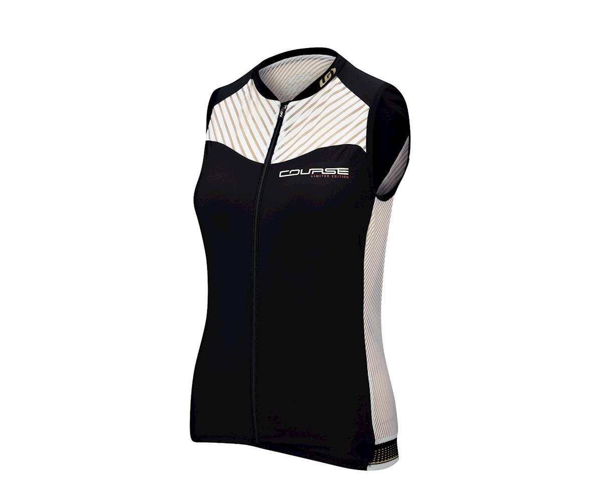 Louis Garneau Women's Course 2 Sleeveless Cycling Jersey (Black) (Xxlarge)