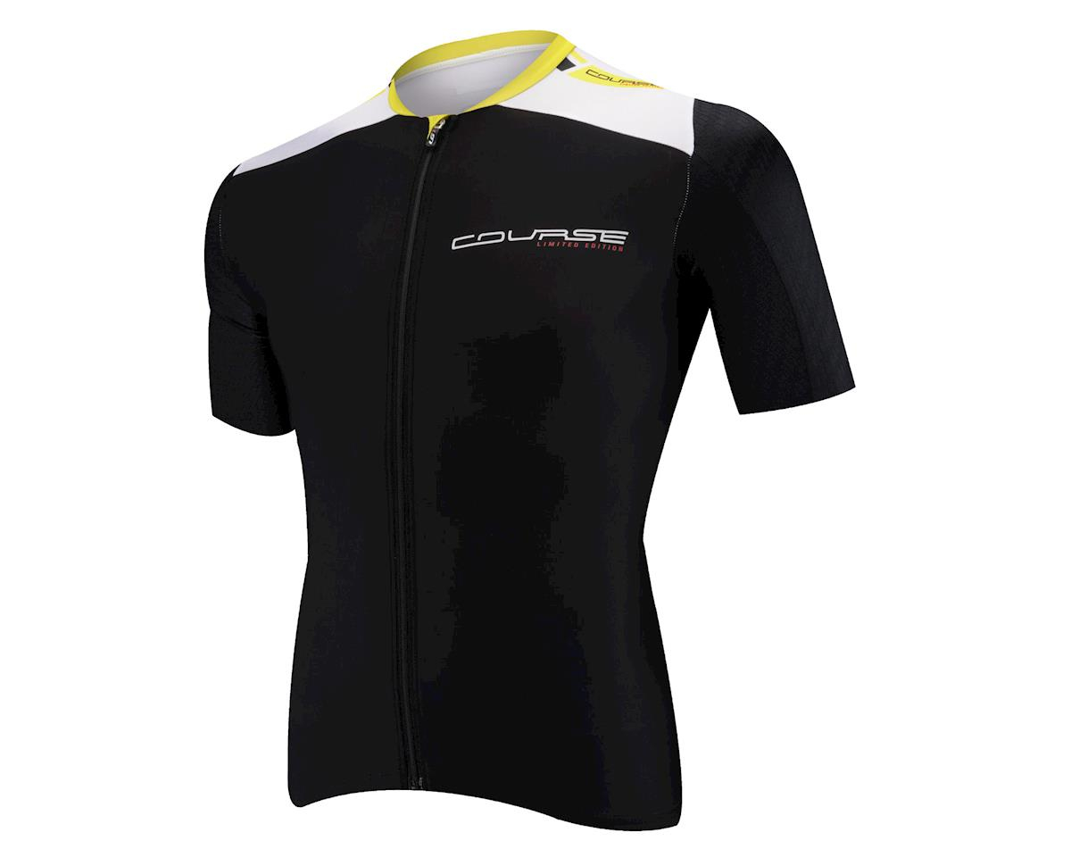 Louis Garneau Course Race 2 Short Sleeve Cycling Jersey (Black)