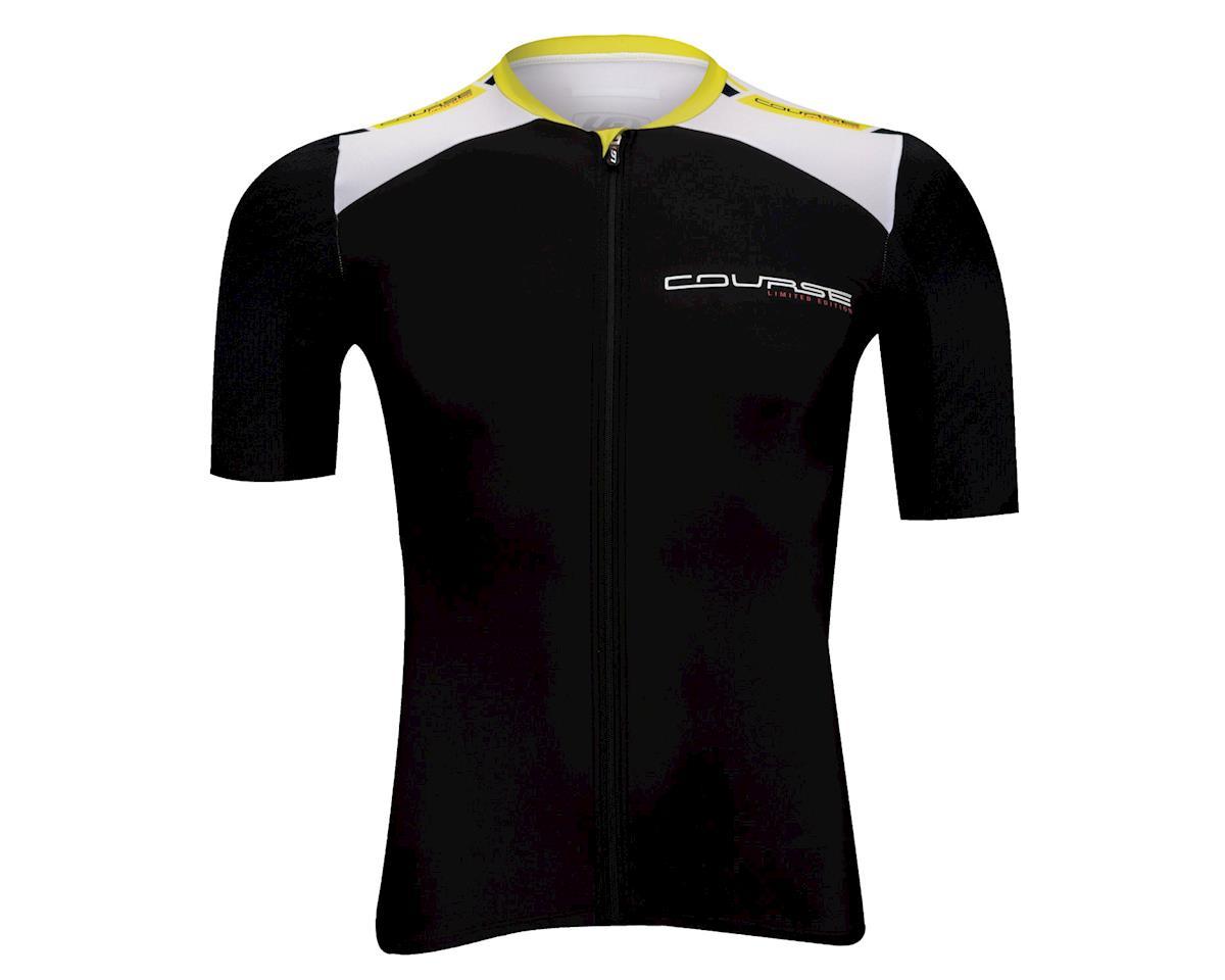Louis Garneau Course Race 2 Short Sleeve Cycling Jersey (Black)