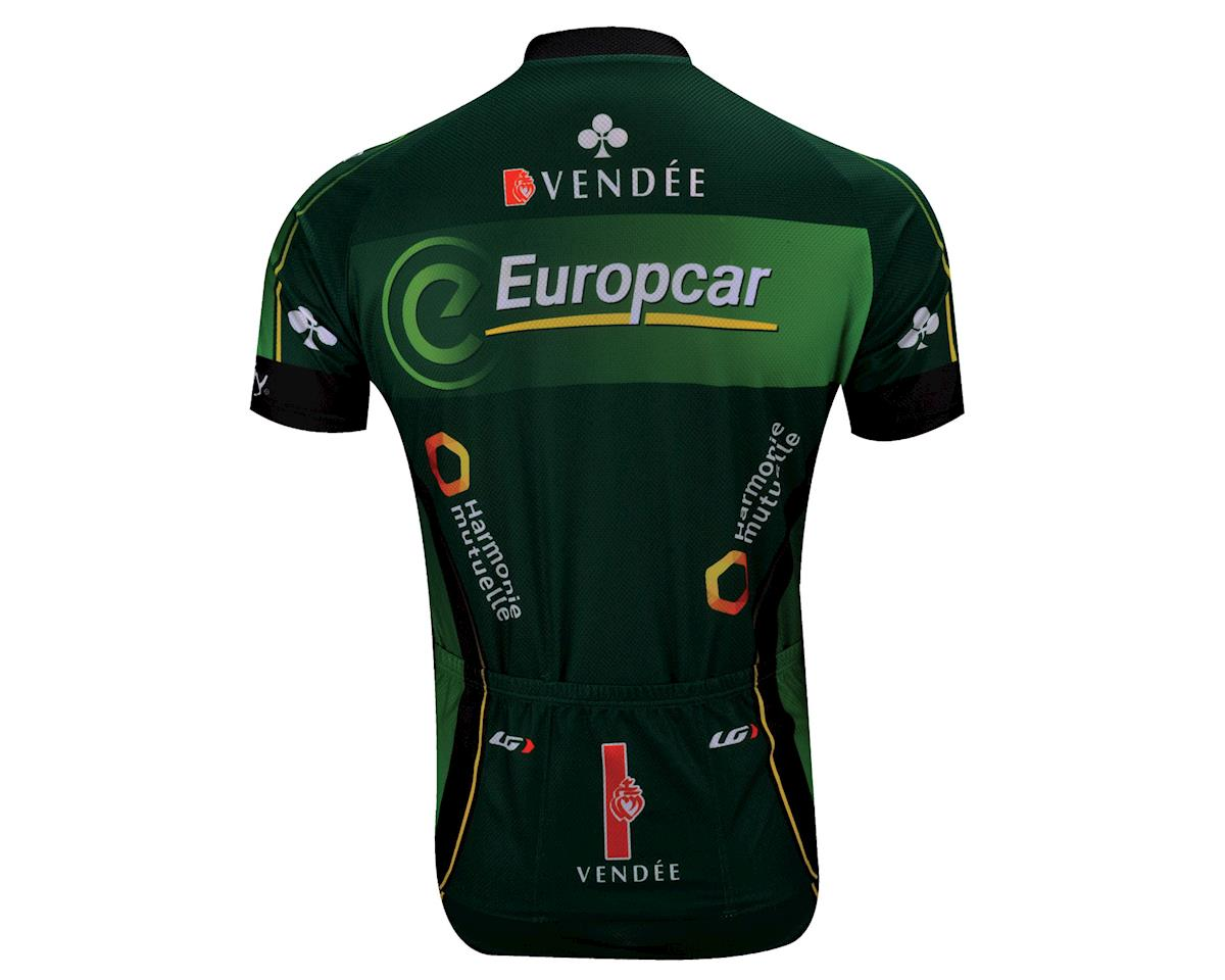 Louis Garneau Equipe Pro 2 Europcar Replica Short Sleeve Jersey (Green)