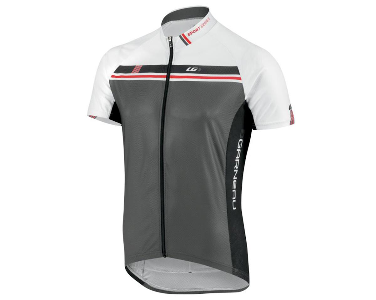 Louis Garneau Equipe GT Series Cycling Jersey (White/Iron Gray)