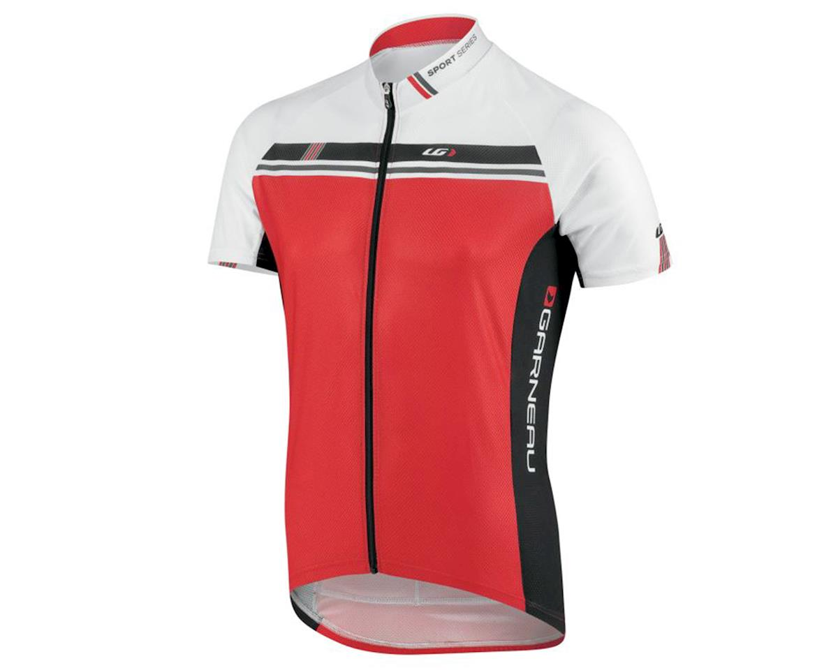 Louis Garneau Equipe GT Series Cycling Jersey (White/Ginger) (2XL)