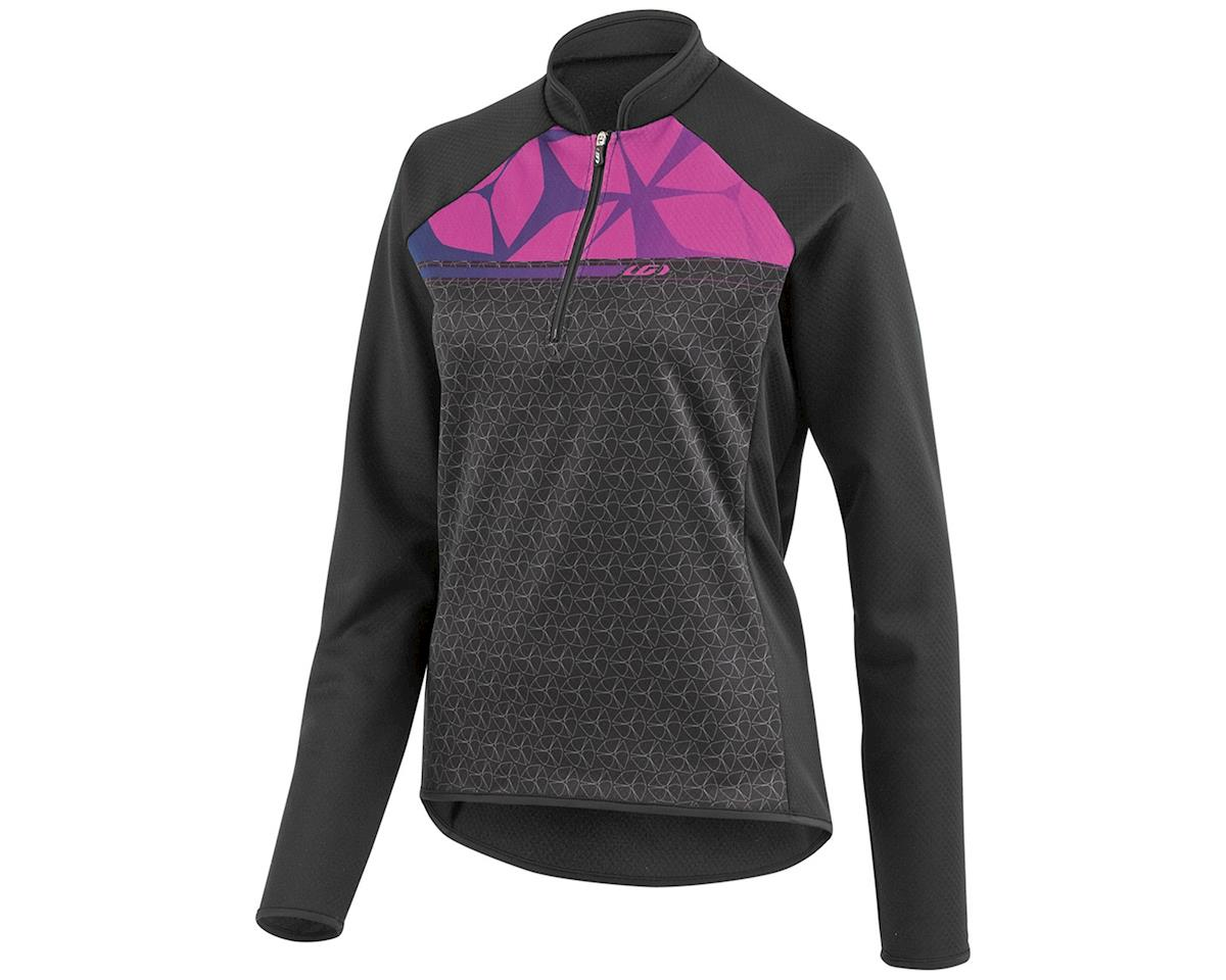 Louis Garneau Gardena 2 Women's Long Sleeve Cycling Jersey (Black/Candy Purple) (XS)
