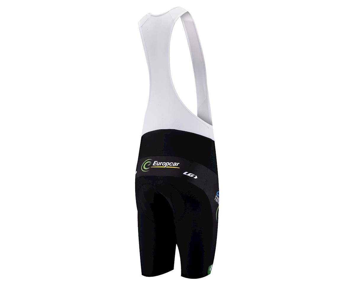 Louis Garneau Europcar Replica Bib Shorts (Black / Green) (Xxlarge)