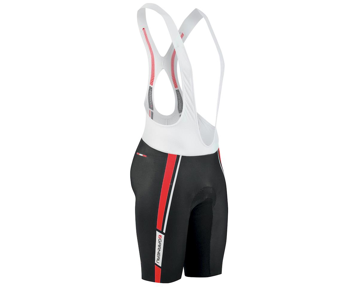 Louis Garneau Course Race 2 Cycling Bib Shorts (Black/White)
