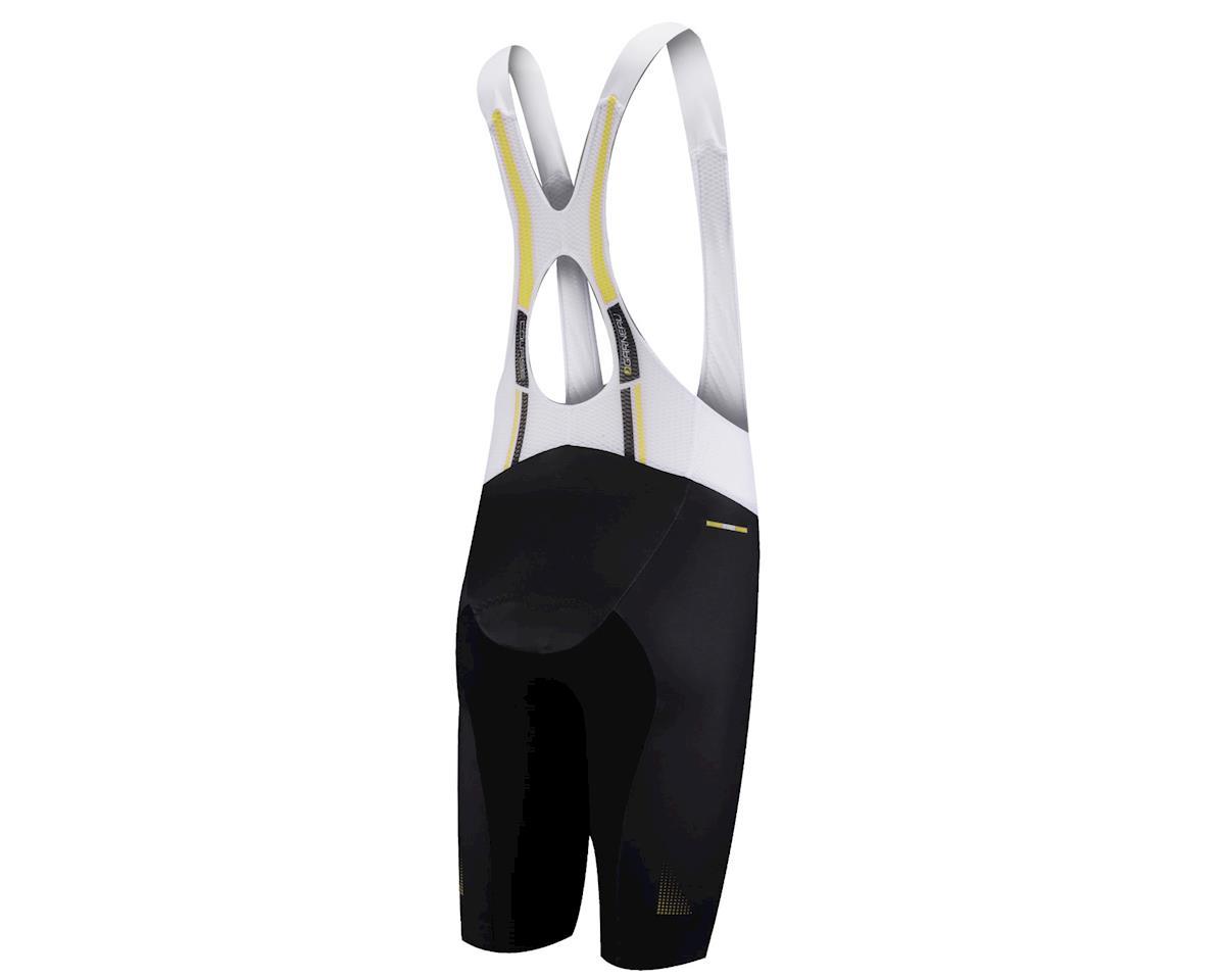 Louis Garneau Course Race 2 Bib Shorts (Black/Yellow) (Xxlarge)