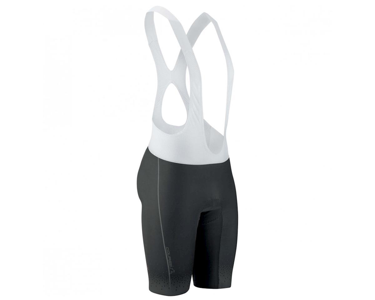 Louis Garneau Course Race 2 Cycling Bib Shorts (Black/Grey) (M)