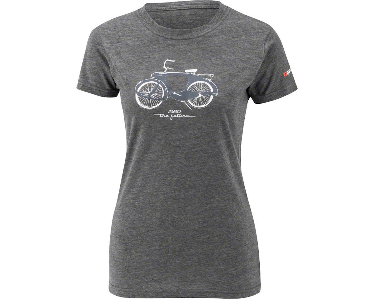 Louis Garneau 1960 Mill Women's T-Shirt: Charcoal Heather XL