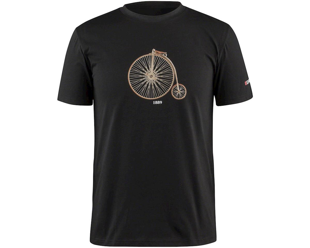 Louis Garneau 1889 Mill Men's T-Shirt (Black) (S)
