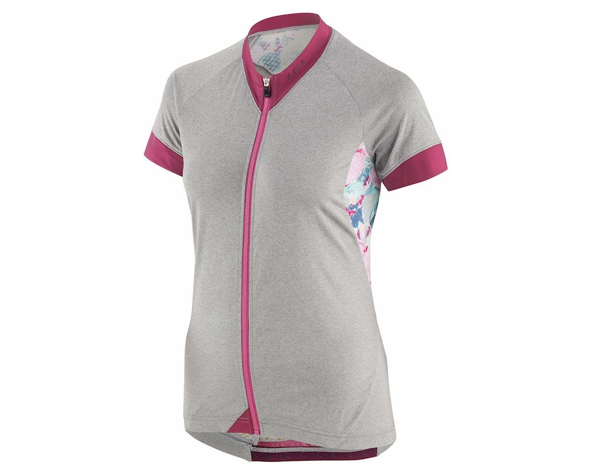 Louis Garneau Women's Art Factory Zircon Jersey (Shiraz/Multi) (L)
