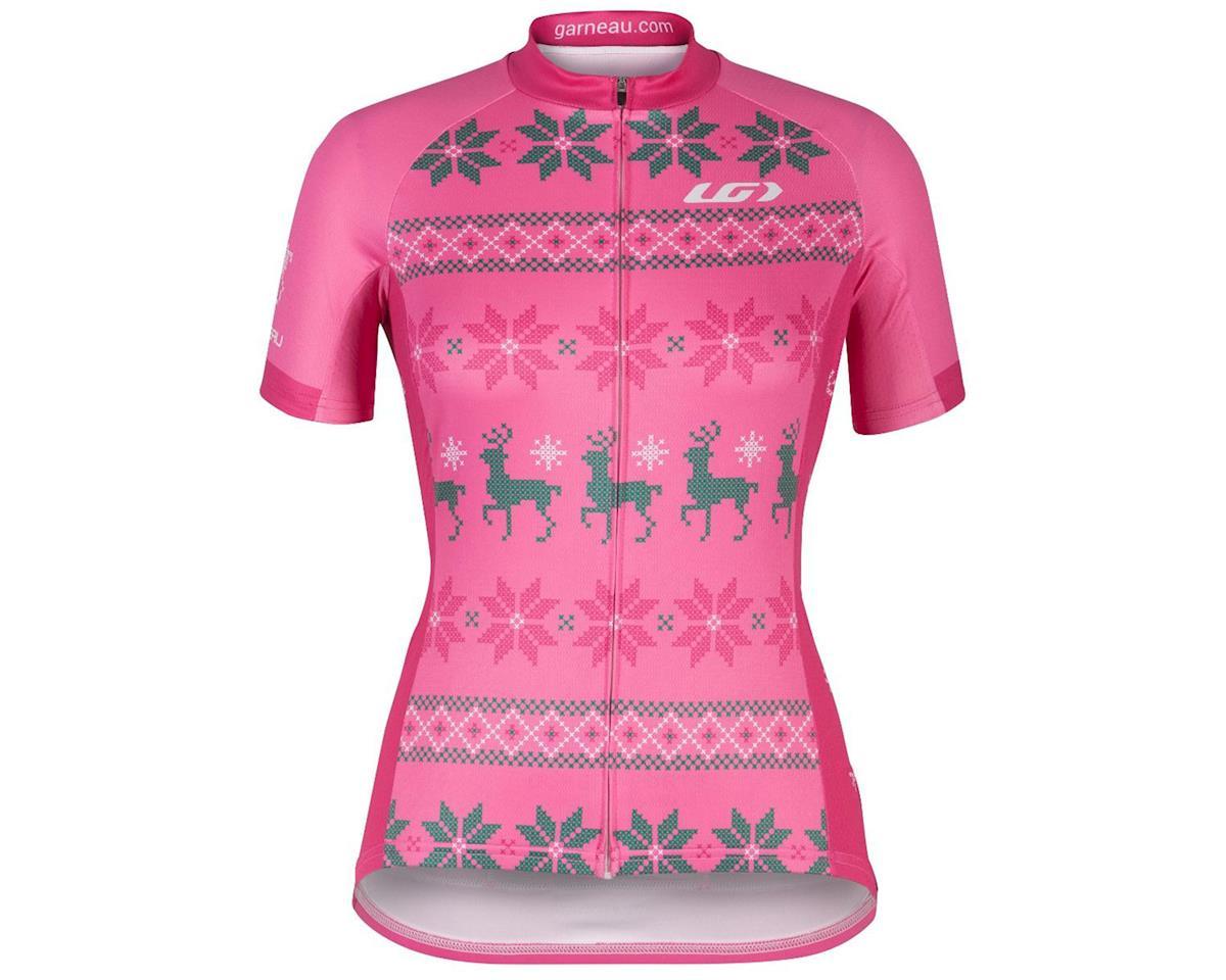Louis Garneau Women's Holiday Ugly Jersey (Pink) (XL)