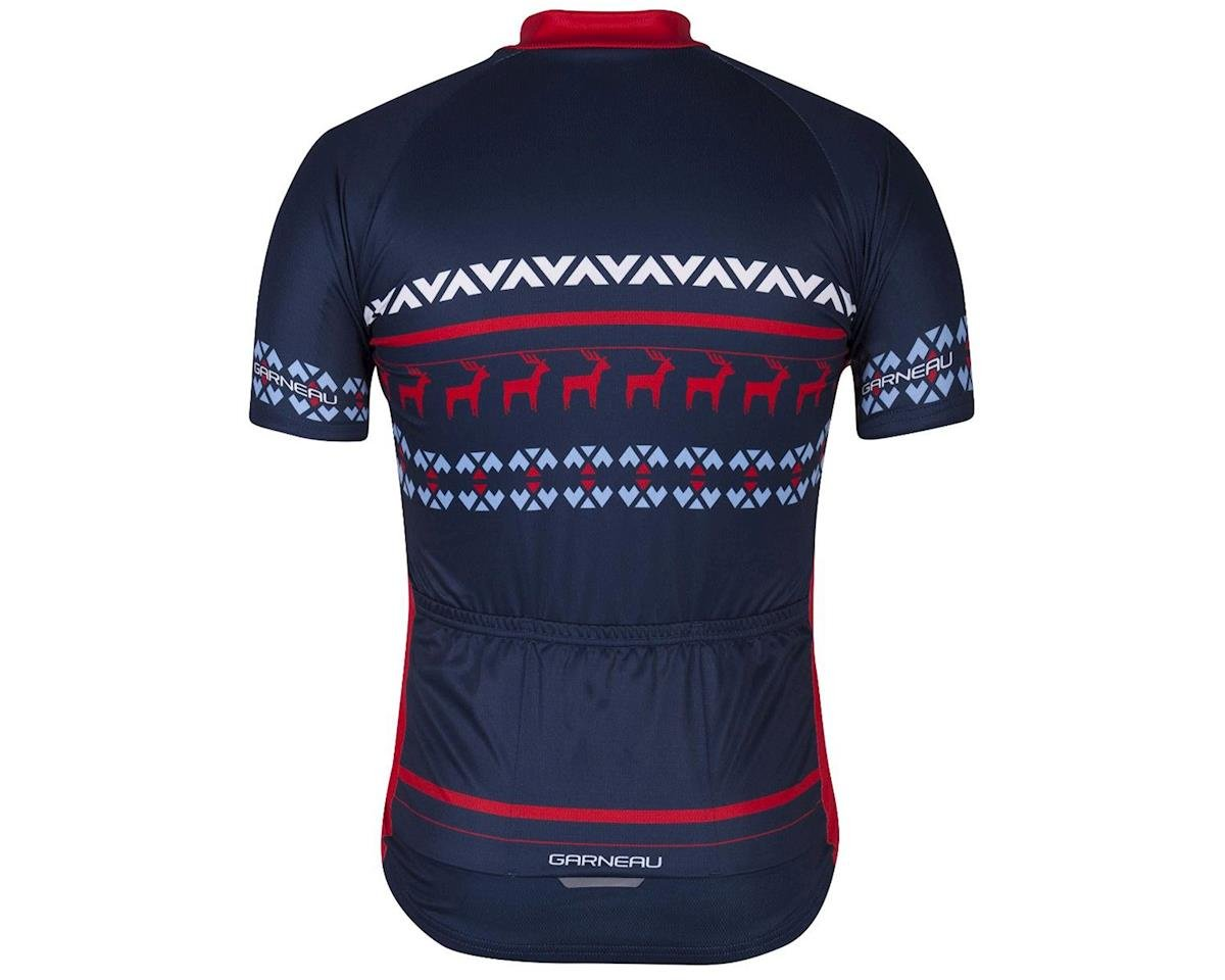 Louis Garneau Holiday Ugly Jersey (Navy) (M)