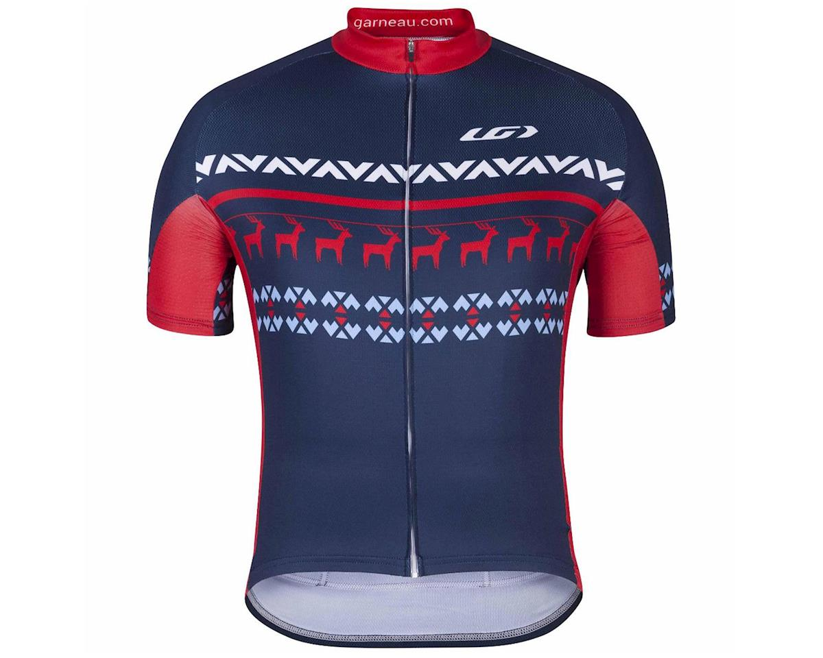 Image 1 for Louis Garneau Holiday Ugly Jersey (Navy) (2XL)
