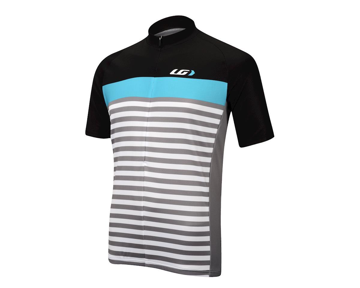 Image 1 for Louis Garneau Becane Jersey (Black/Blue/Gray)