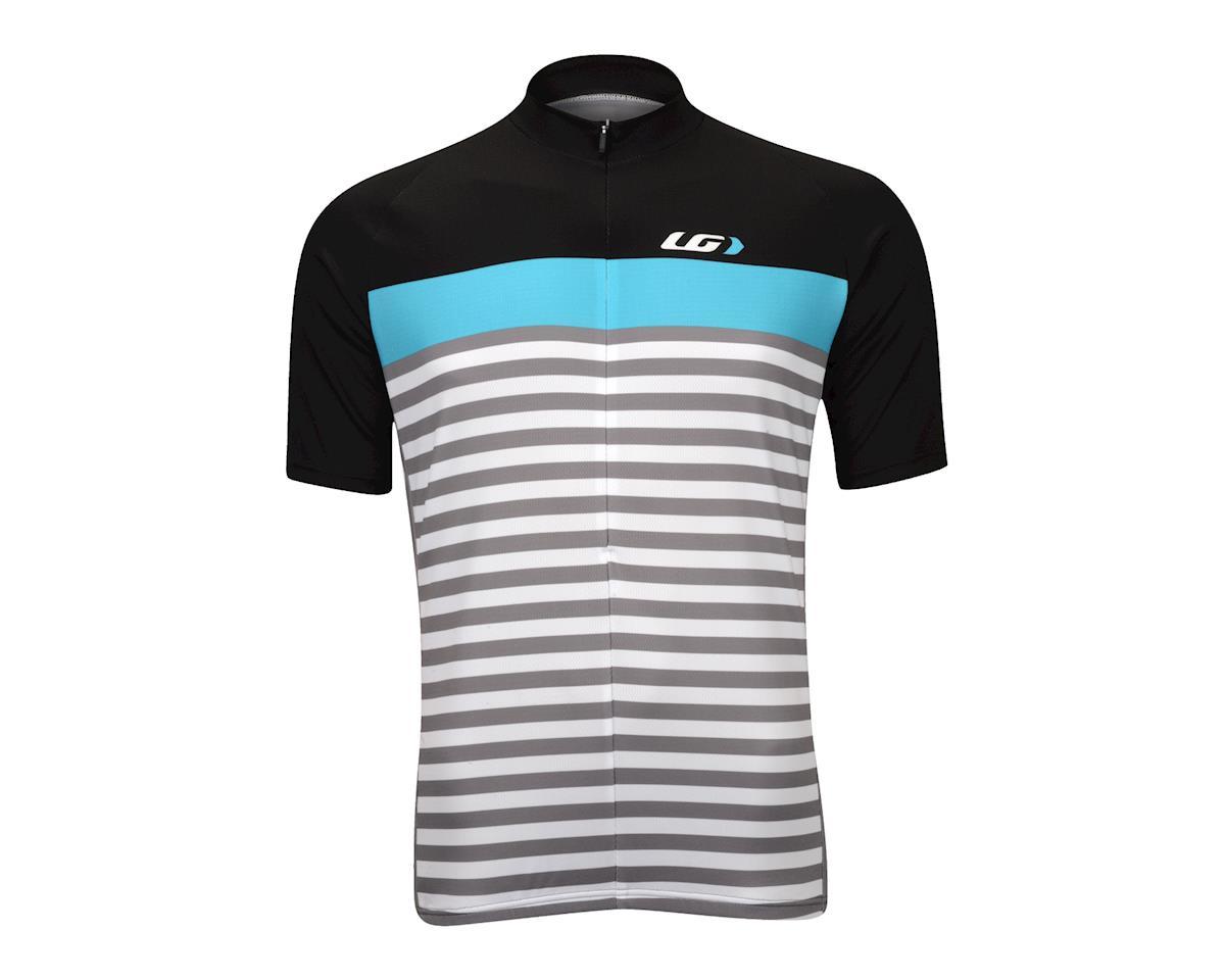 Image 2 for Louis Garneau Becane Jersey (Black/Blue/Gray)