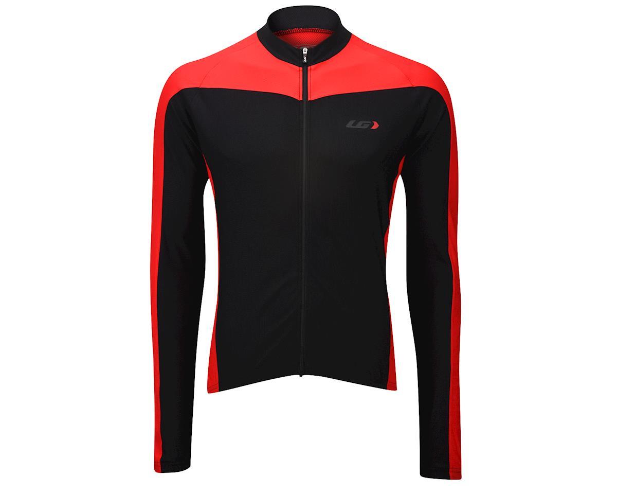 Image 2 for Louis Garneau Cambridge Long Sleeve Jersey (Red)