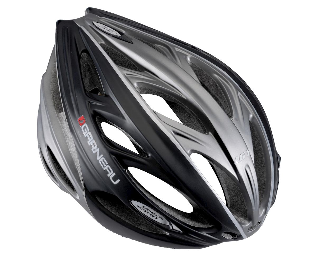 "Louis Garneau Exo-Nerv Road Helmet - Exclusive (Black) (Large 23.25-24.5"")"