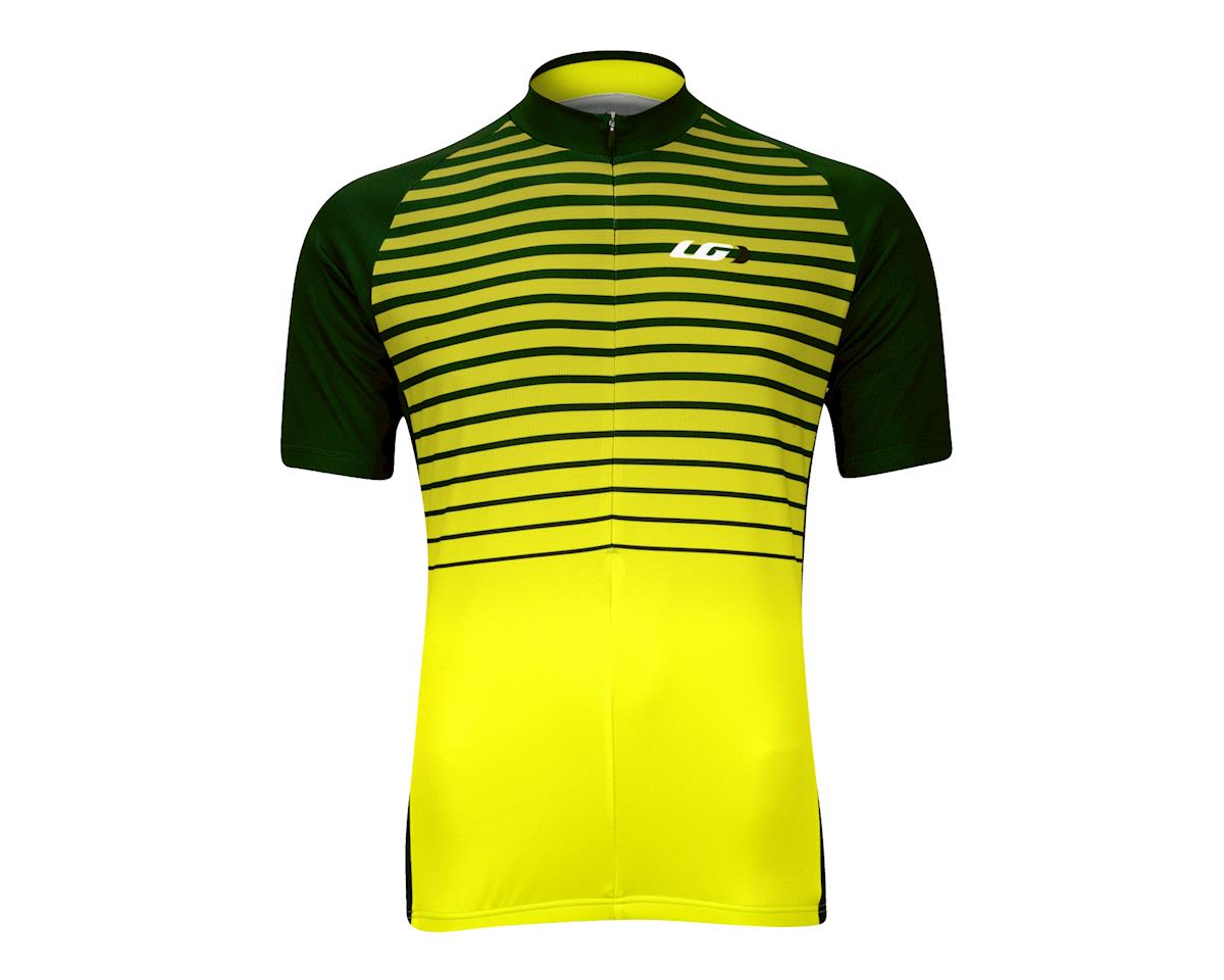 Image 2 for Louis Garneau Gradient Jersey (Yellow/Black)