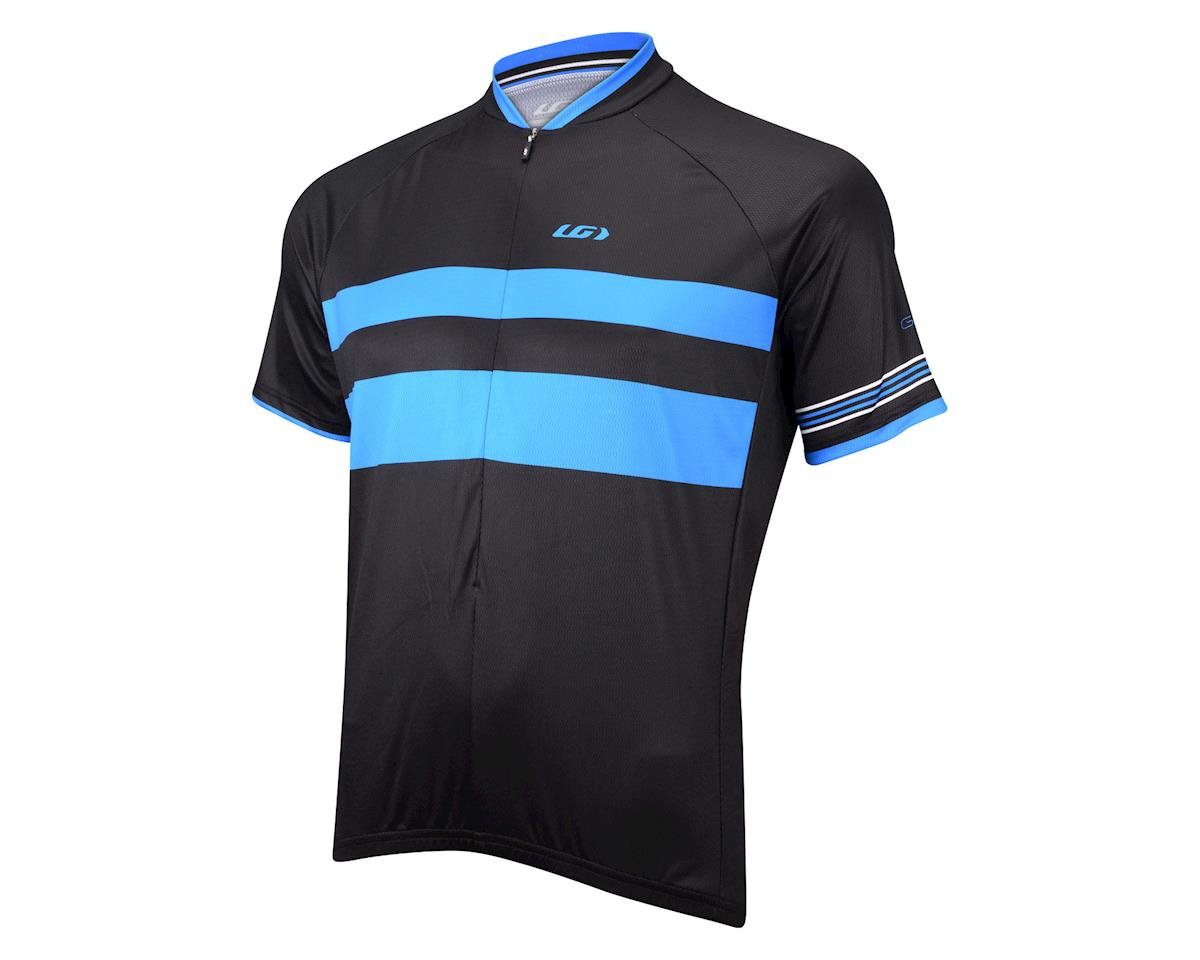 Image 1 for Louis Garneau Limited Short Sleeve Jersey (Black/Blue) (Xxlarge)